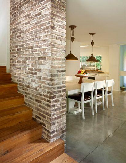 Fresh Basement Brick Wall Ideas