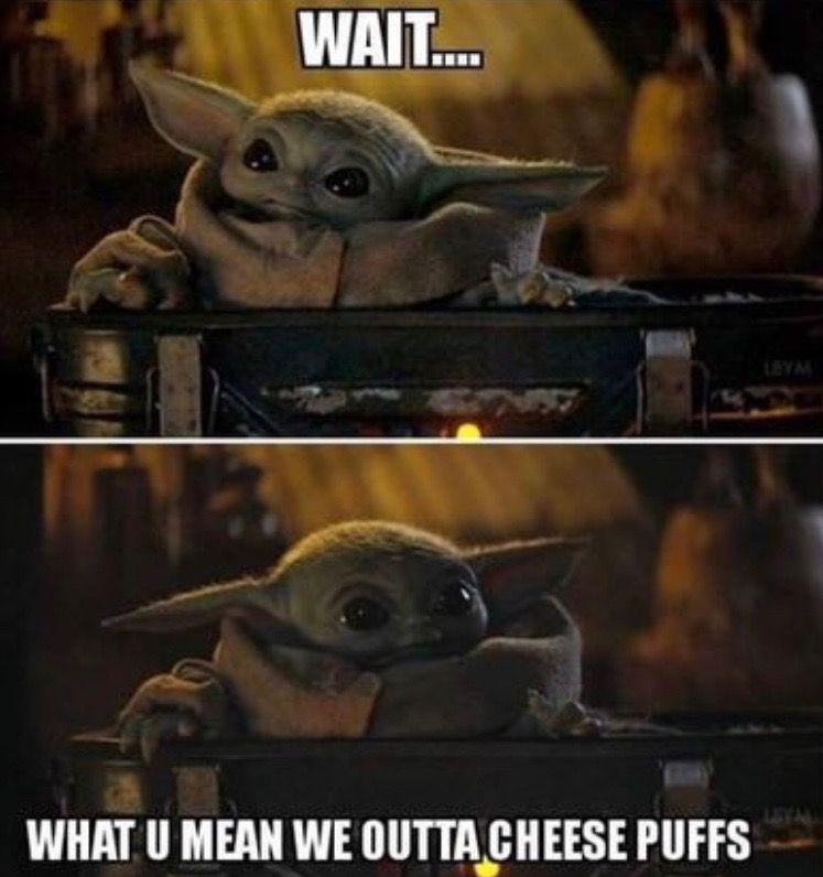 Pin By Connor Nanus On Baby Yoda Star Wars Memes Yoda Meme Star Wars Jokes