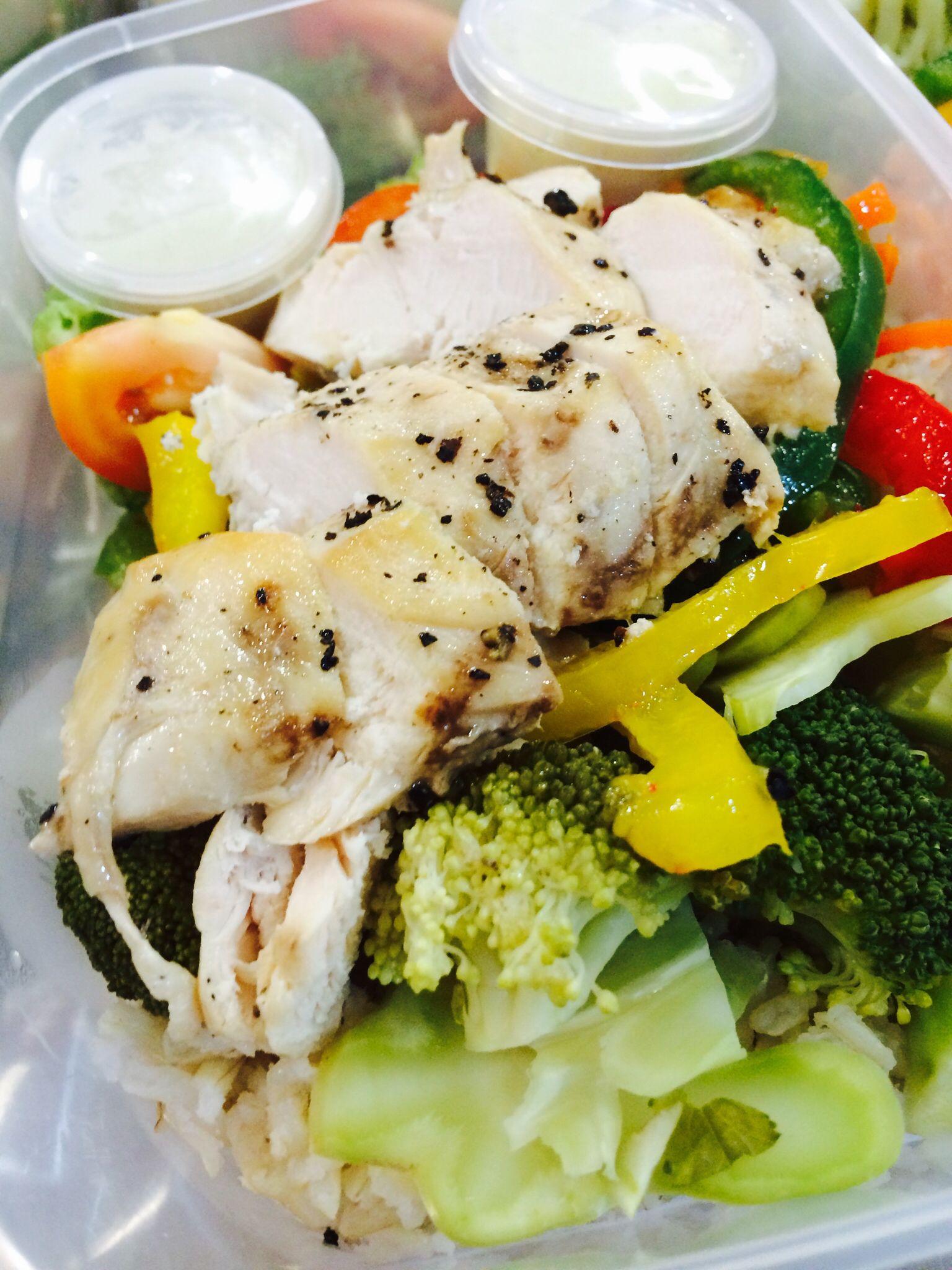 Black pepper chicken ~350kcal