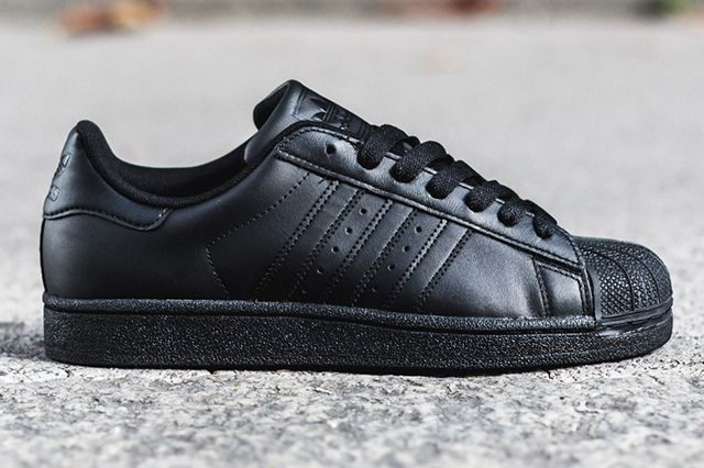 low cost 953b0 9efab ADIDAS SUPERSTAR II (TRIPLE BLACK) | Sneaker Freaker ...