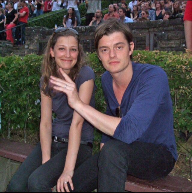 Sam Riley and his wife Alexandra Maria Lara | Sam Riley