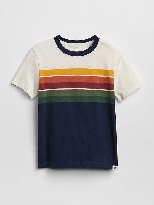 e8c1b90a8 Gap Chest-Stripe T-Shirt | Products | Mens tops, Toddler boy outfits ...