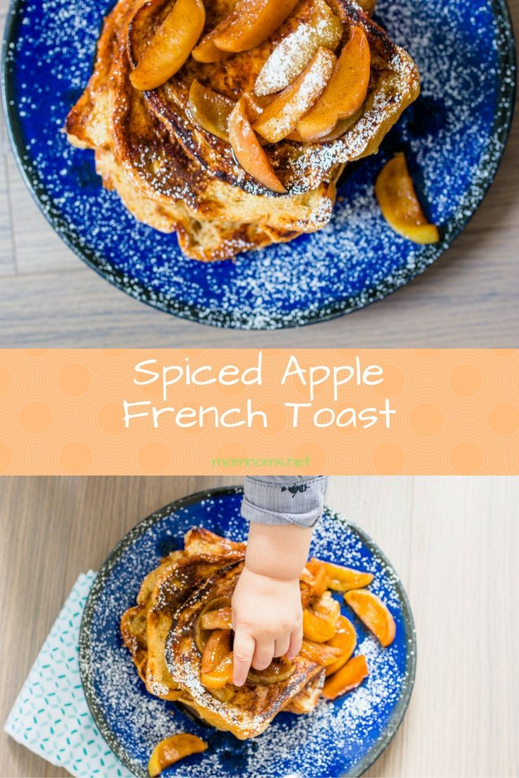 Irresistible Spiced Apple French Toast