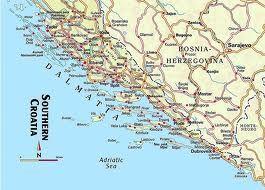 dalmatian coast map - Google Search | Dalmatian coast | Map ... on