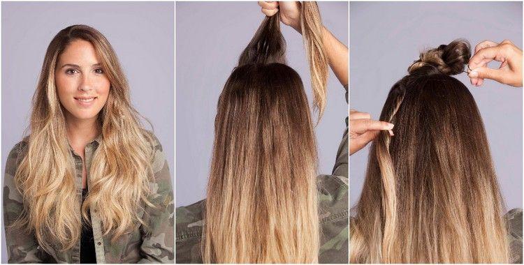 Anleitung Faux Hawk Damen Selber Machen Styling Tipps Haar Styling Lange Haare Lange Haare Stylen