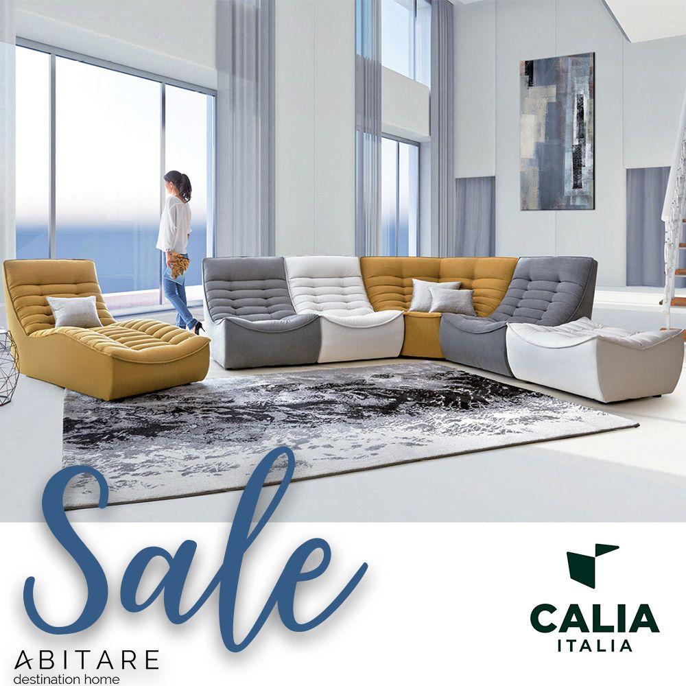 Calia Italia Elisir 3 Seater Sofa Met