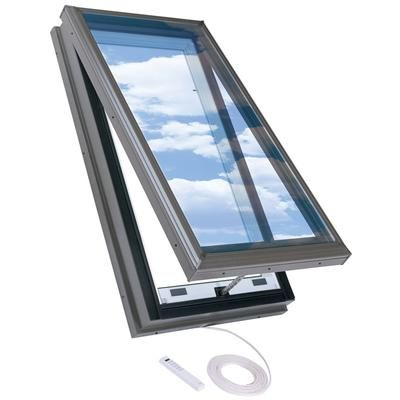 Velux Curb Mount Electric Venting Skylight 22 5 Inch X