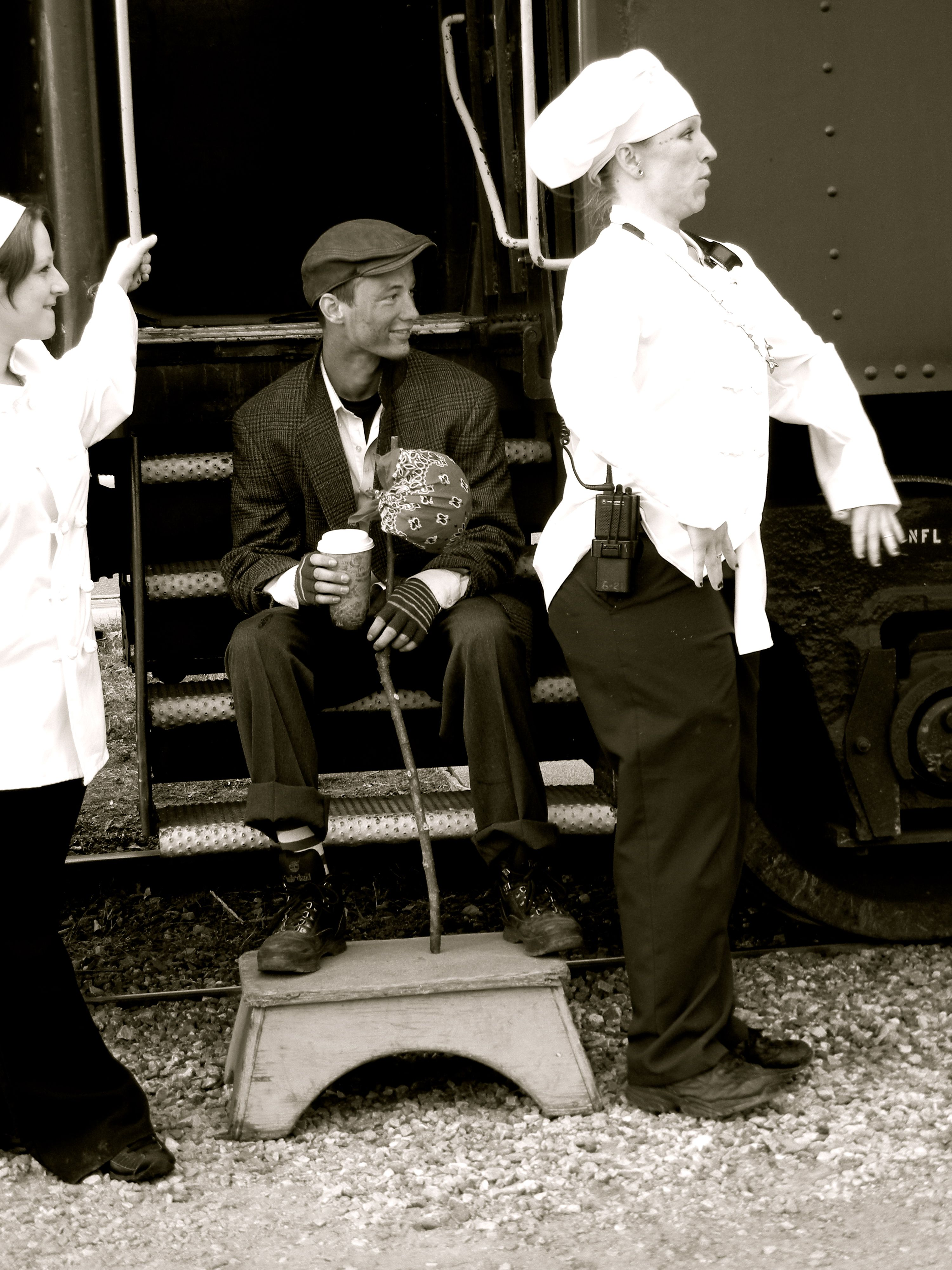 Polar Express Cast and Crew - Smoky Mountain RR   Follow Me ...