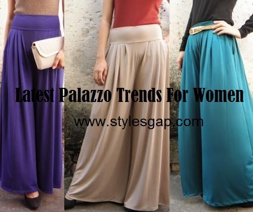 Latest Palazzo Pants And Trousers For Women 2014 Palazzo Pants