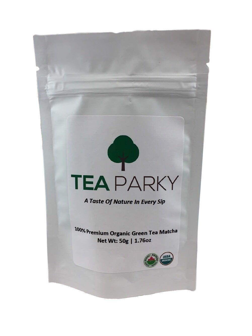 Organic Premium Matcha Green Tea Powder (50g, 100g) (With