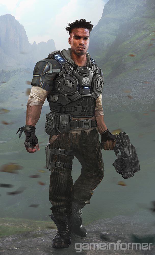 Character Breakdown: Meet The New Gears - Gears Of War 4 - Xbox One - www.GameInformer.com