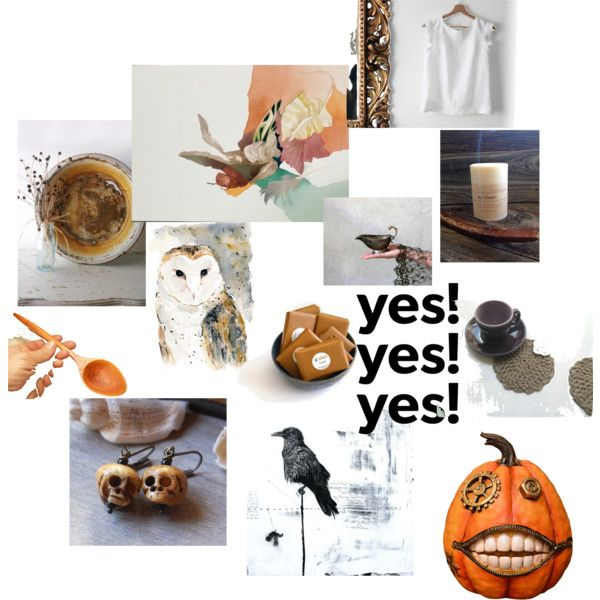 Fall Finds by dorothy-walker on Polyvore featuring art