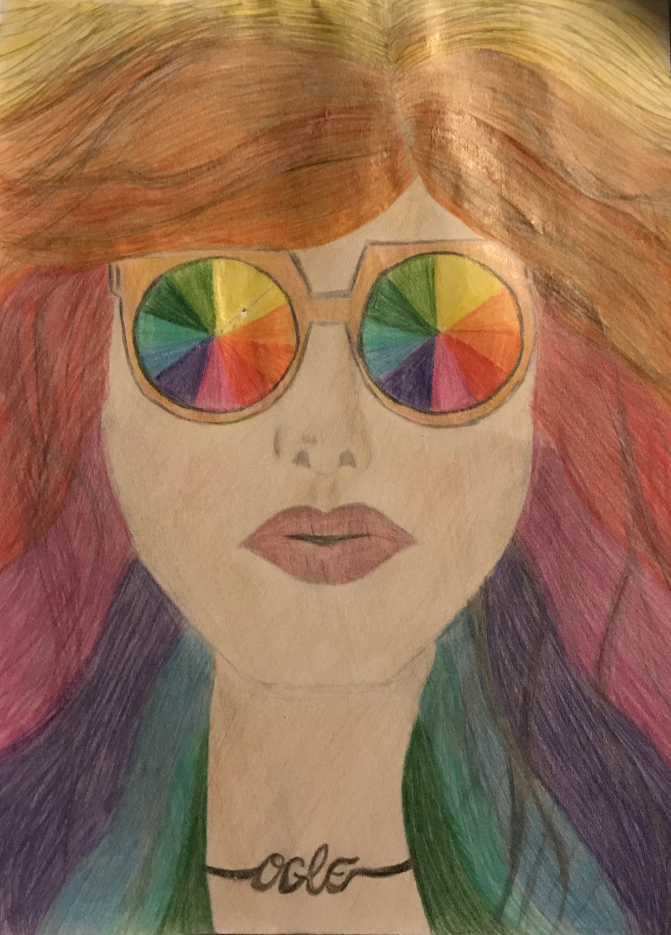 Cosmetology Color Wheel Project