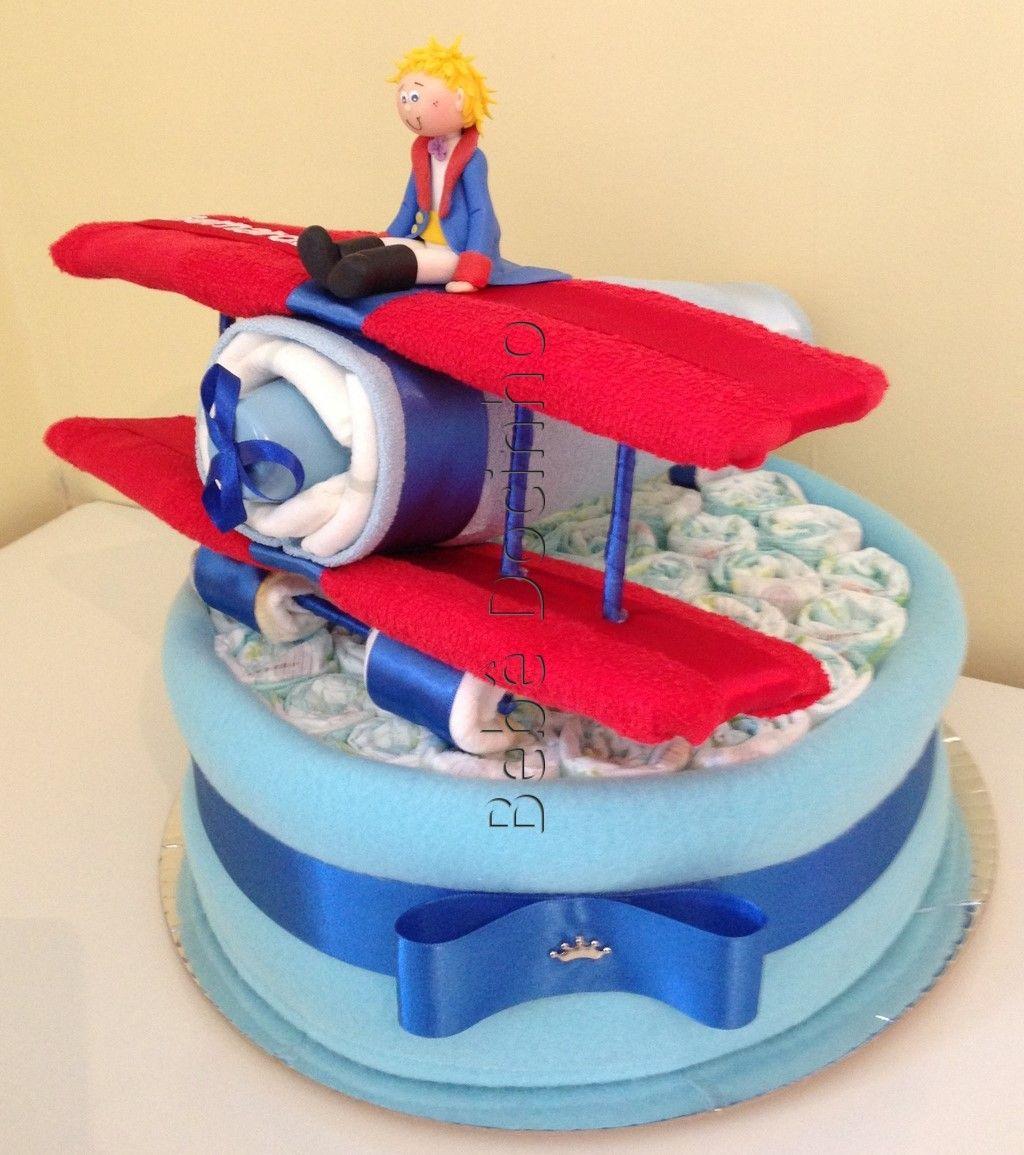 Muitas vezes bolo de fralda cha de bebe pequeno principe - Pesquisa Google  EK24