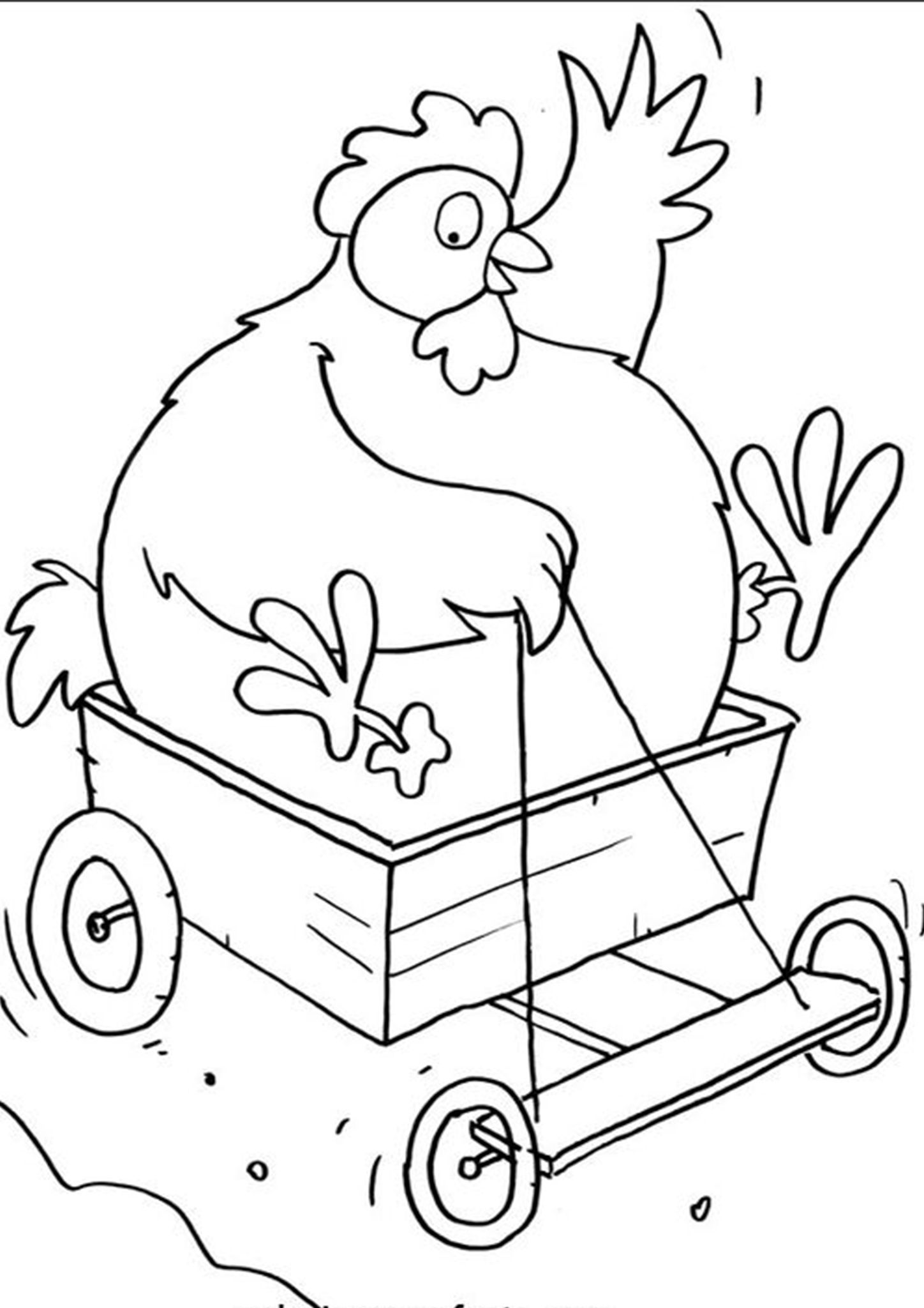 Free & Easy To Print Farm Coloring Pages in 2020 Farm