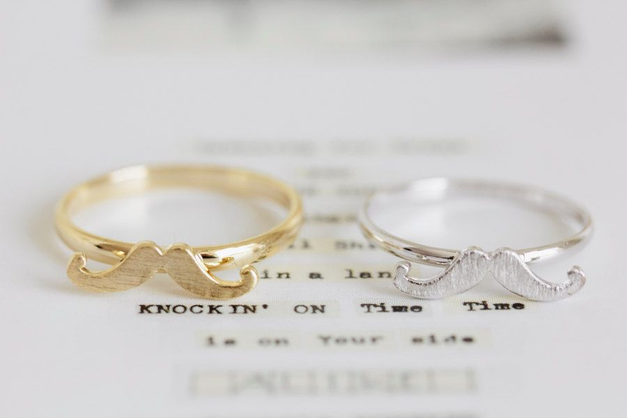 Unique His And Her Rings