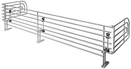 Reer 2011 - Reja de seguridad para fogones regulable, aluminio