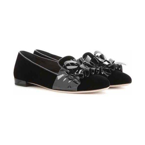 bab1ce2c8ba2 Miu Miu Velvet Loafers (4