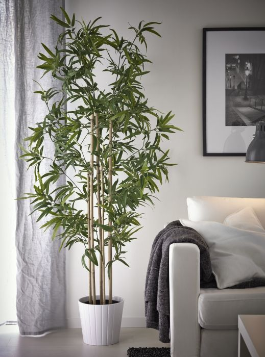 Artificial House Plants Living Room Ideas Pictures Brown Couch Fejka Kunstplant, Bamboe In 2018 | Decorating ...