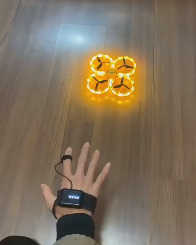 New amazing technology! With the hand controllable! With remote controllable. Get yours now at Phenomenalware.com! 1. Smart Watch Remote Control 2. Gravity Sensing Avoidance 3. Full 360 Degree Movement 4. Bright LED Light Up Display Package Includes: 1*ZF04 RC Drone 1*2.4G Remote Control Watch 1*Water Drop Remote Controller 1*USB cable 1*Watch Charging Cable Hours Of Fun For The Whole Family