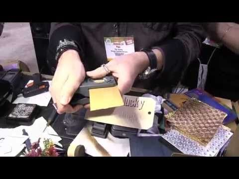 ▶ CHA 2015 - Tim Holtz Punches - YouTube