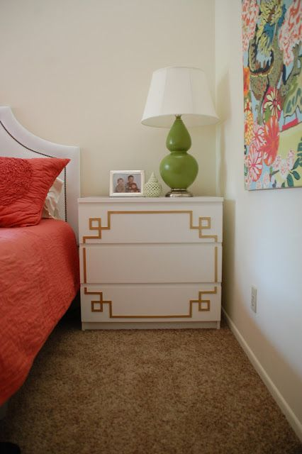 Trapped In North Jersey: pippa overlays on a malm dresser