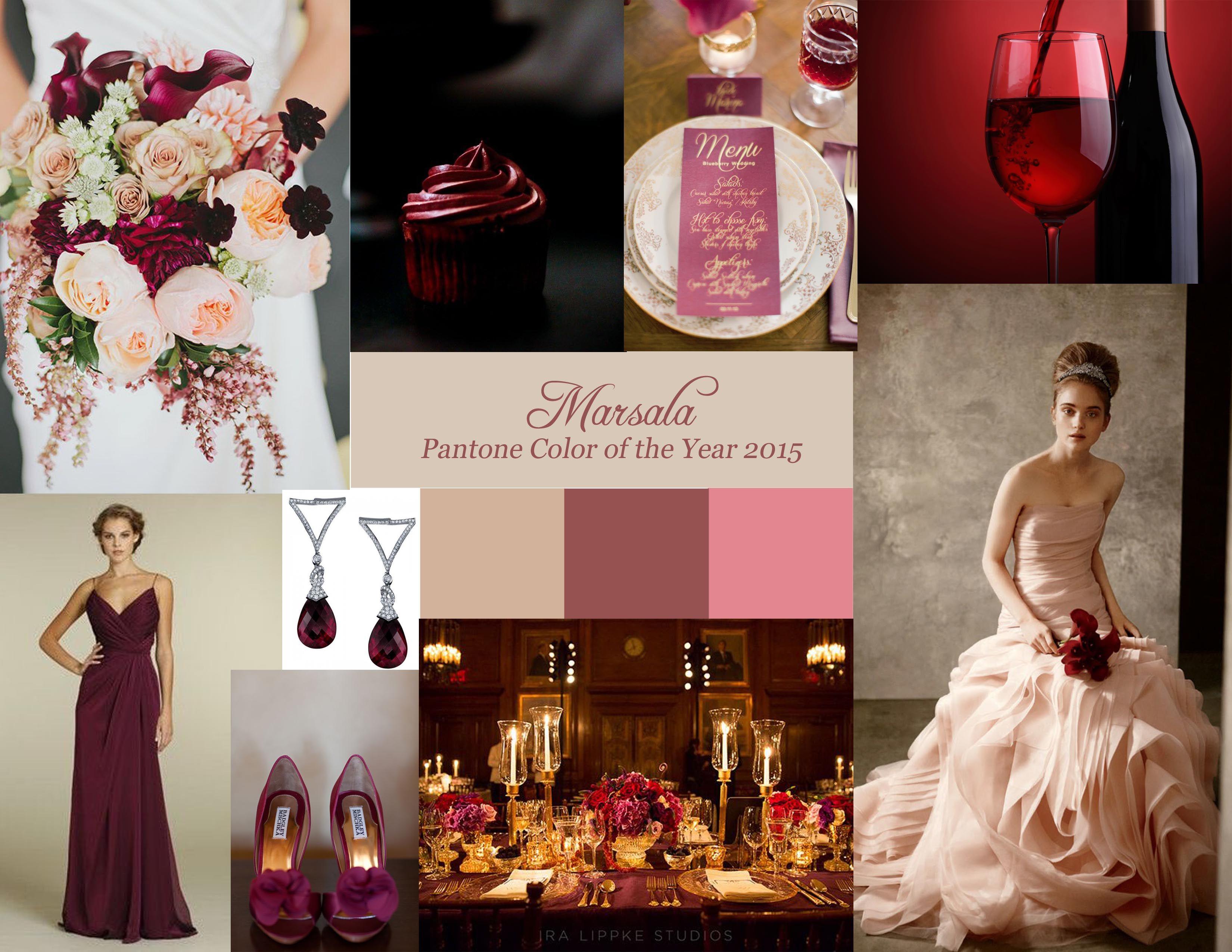 Marsala Wedding Decor | ... Creative Weddings - Planning and Decor ...