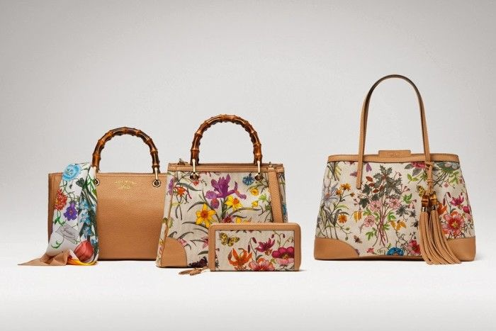 a018d76f787 Special Edition Gucci Flora Collection To Celebrate Gucci s 50 Years In  Japan