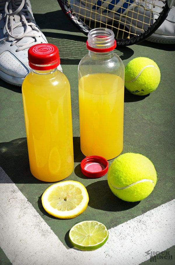 "TRY: ""If you have a young athlete in the family, then you are probably purchasing a lot of Gatorade. Have you ever looked at the ingredients? I'm not jumping on a high horse, because I have my own problem with bottled sweet teas. But if you are looking for a little healthier choice to feed the kids. Check out the recipe from Christina from Shock Munch."""
