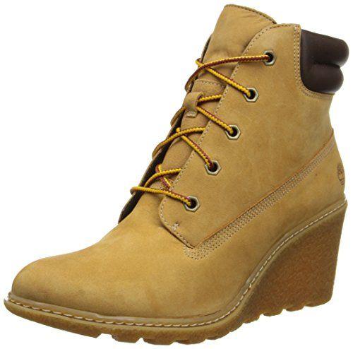 Timberland Auth Teddy Fleece Wp Wht, Boots femme - Jaune (Wheat), 40 EU (9 US)