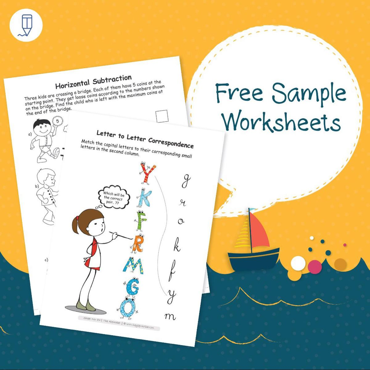 Free English And Maths Worksheets In