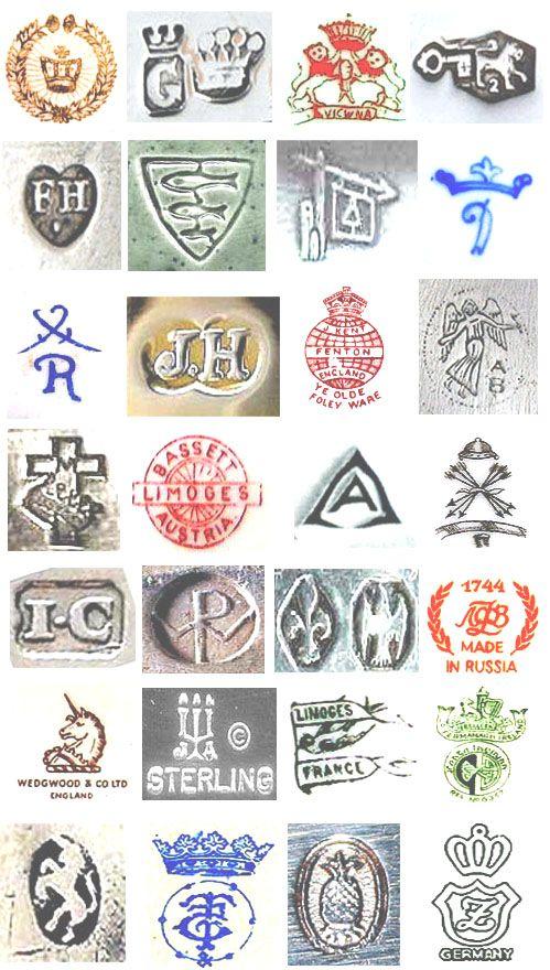 Vintage Ceramics Sample Reference