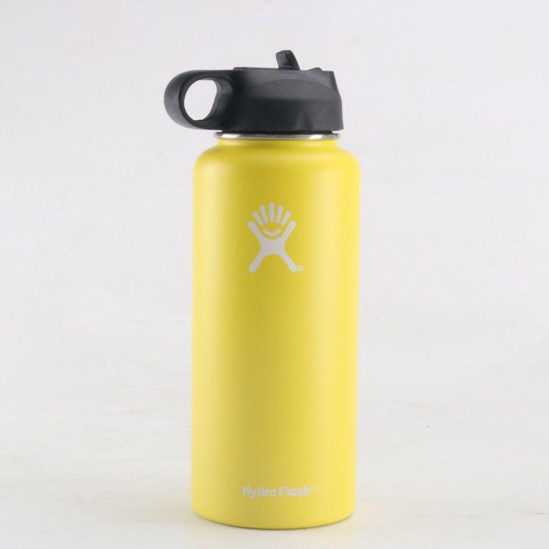 18oz 32oz 40oz Hydro Flask Water Bottle With Straw Water Bottle With Straw Hydro Flask Colors Pink Hydro Flask