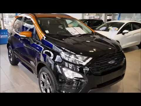 pr sentation nouveau ford ecosport st line 2018 voiture by stephane viaud pinterest ford. Black Bedroom Furniture Sets. Home Design Ideas