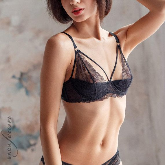 8ee57cc7ff Triangle sheer bra Bralette Women Bralette Erotic Bralette Sexy ...