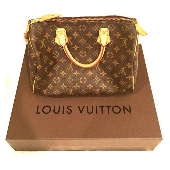 Authentic Louis Vuitton Speedy 30 😍