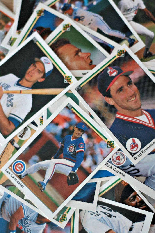 90s Baseball Cards Sets Of 90 Vintage Baseball Cards