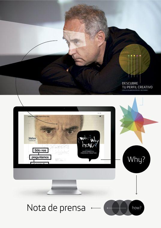 Campaña integrada: Ferran Adrià. Alimenta la innovación / Cliente: Fundación Telefónica / Estudio-Agencia: Prodigioso Volcán | Nº 188