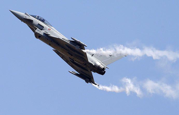 Eurofighter Typhoon (Reuters/Marko Djurica)