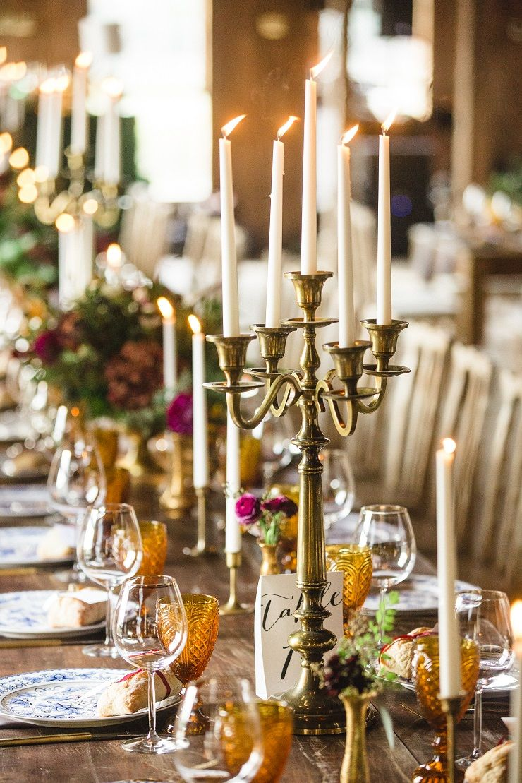 Autumn wedding table decoration | fabmood.com