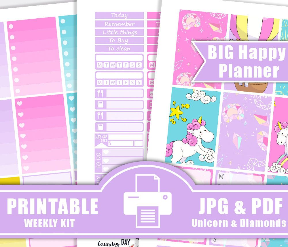 the 'Today is Your Day' sticker value pack + the MINI 'Super Fun' Happy  Planner® by Gretchen Klobucar