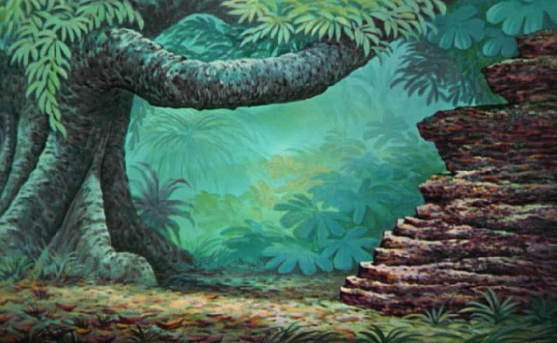 Behind The Scenes In The World Of Animated Films Animation Background Jungle Book Background
