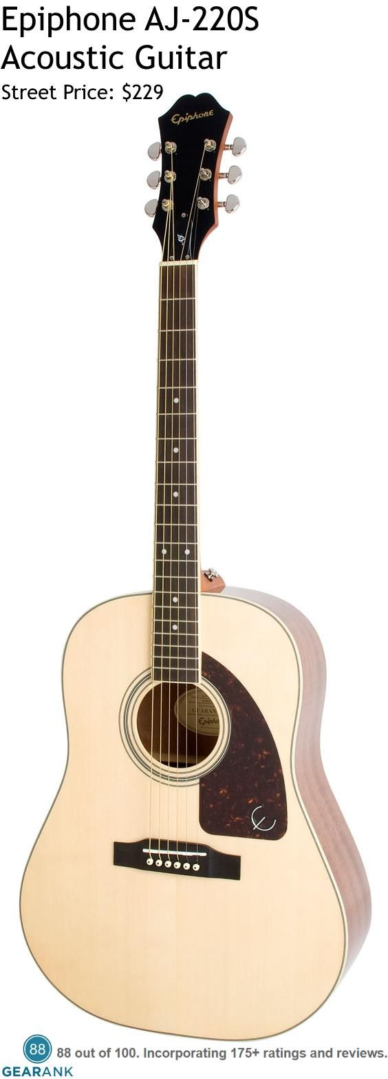 Pin On Epiphone Acoustic Guitar