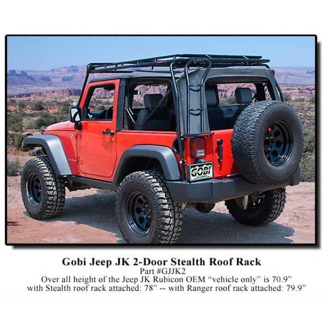 Gobi Jeep Wrangler Jk Stealth Roof Rack 2007 Jeep Wrangler Jk 2