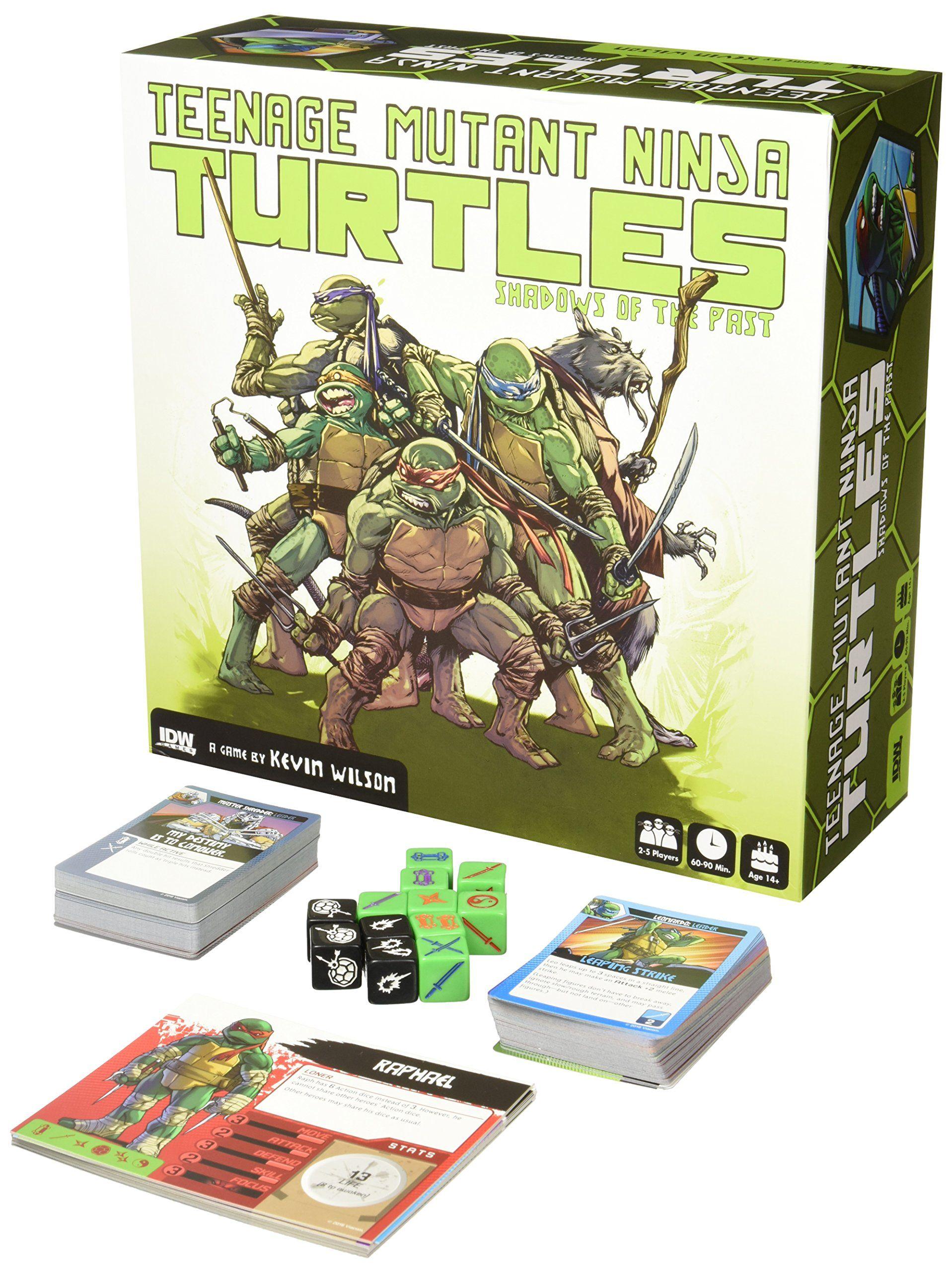Idw games teenage mutant ninja turtles shadows of the