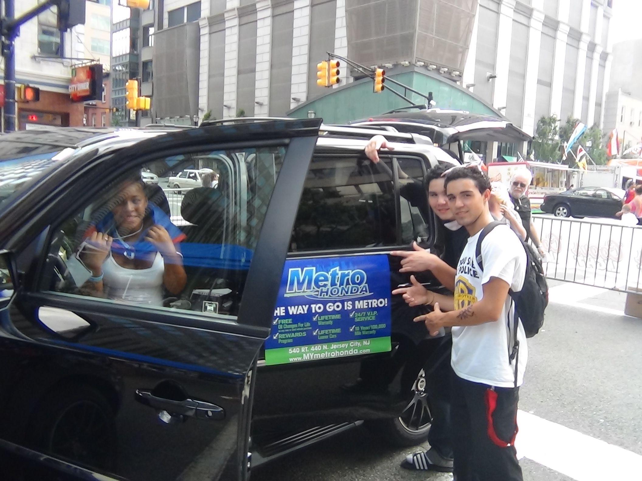 Nice Puerto Rican Parade Jersey City   Metro Honda   Honda Pilot