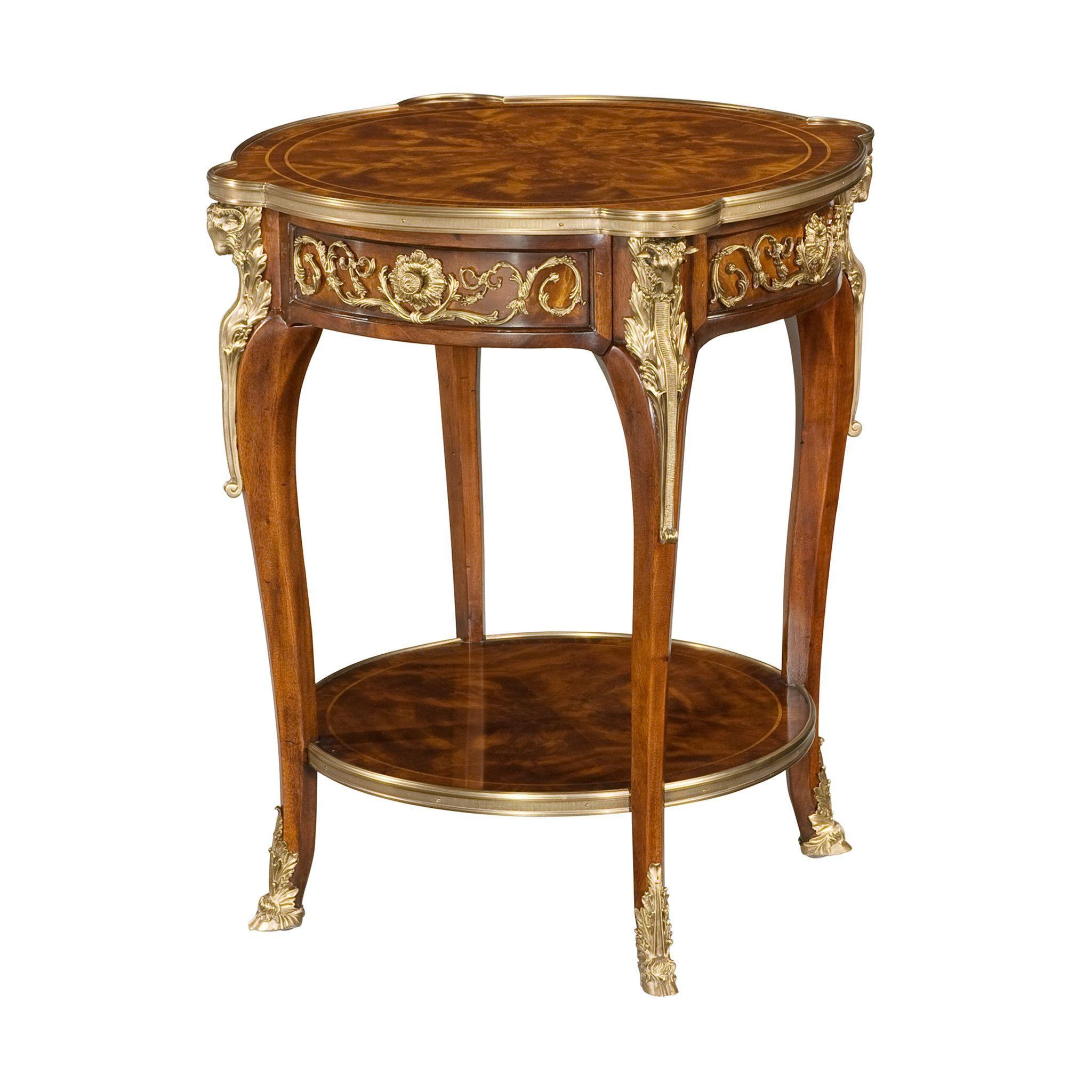 Louis xv mahogany lamp table lamp table and products louis xv mahogany lamp table geotapseo Choice Image