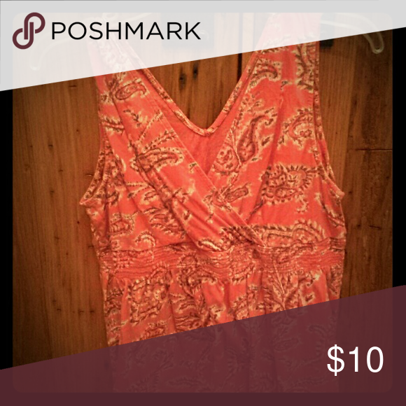 Tommy Hilfiger V-neck summer top, light, airy, paisley Tommy Hilfiger Tops Tank Tops