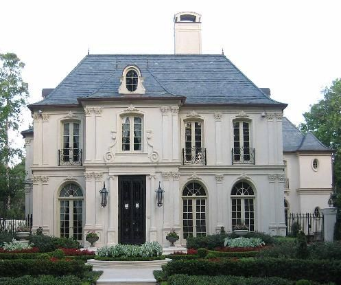 French Chateau House Style