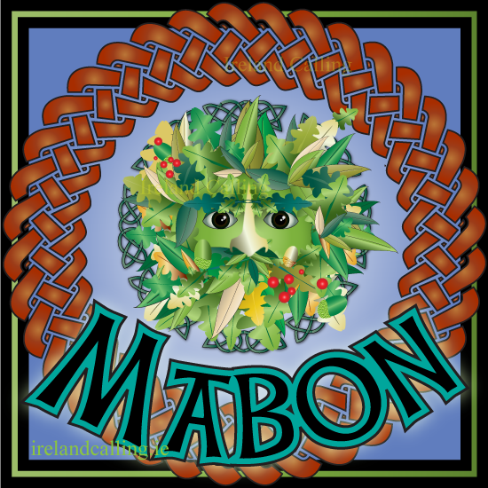 Mabon – Celtic celebration of autumn equinox  23rd September Autumn Equinox, Mea'n Fo'mhair. Visit Ireland Calling for more information about the Celtic seasonal festivals .